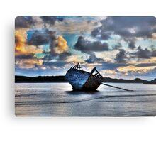 Donegal Shipwreck (Eddies boat) Metal Print