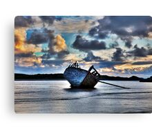 Donegal Shipwreck (Eddies boat) Canvas Print