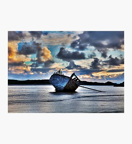 Donegal Shipwreck (Eddies boat) Photographic Print