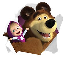 Masha and the Bear by Mish S.Alrushaid