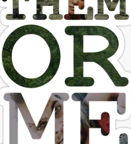 Far Cry 3 - Them or Me Sticker