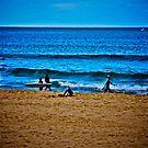 See the sky, appreciate the sea, human life... by Kornrawiee