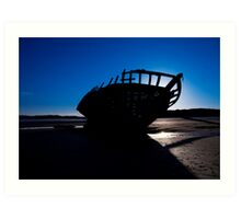 Shipwreck, Bunbeag Co. Donegal Art Print
