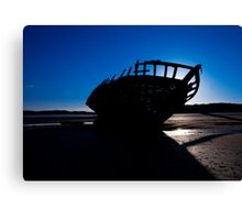 Shipwreck, Bunbeag Co. Donegal Canvas Print