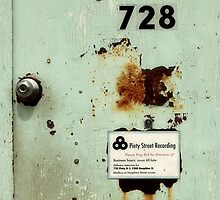 Door To Dave Matthews Band Recording Studio by SuddenJim