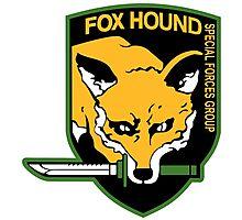Fox Hound logo (high resolution) Photographic Print