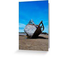 Shipwreck 3, Bunbeag Co. Donegal Greeting Card