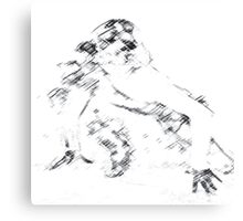 Pokerface Gaga Canvas Print