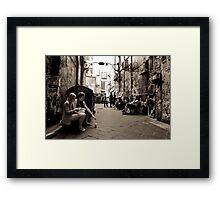 """""""Lunch Break"""" Framed Print"""