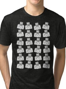 24 Negative Cameras  Tri-blend T-Shirt