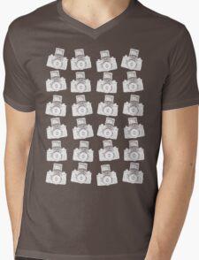 24 Negative Cameras  Mens V-Neck T-Shirt