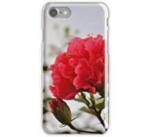 Red Hibiscus Flower iPhone Case/Skin