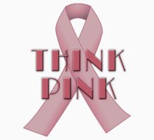 THINK PINK for Breast Cancer Awareness Kids Clothes