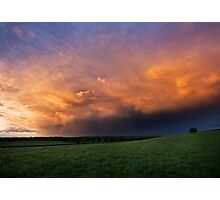 Spring Storm Clouds Photographic Print