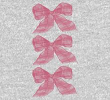 Pink Bows by Amanda Latchmore