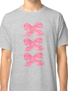 Pink Bows Classic T-Shirt