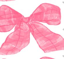 Pink Bows Sticker