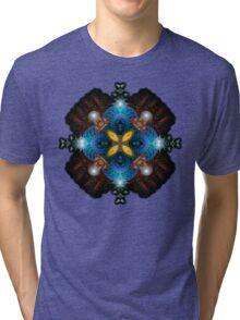 Fractal KrisKrossia Tri-blend T-Shirt