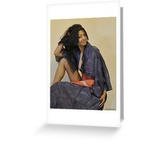 The Kimono Collector Greeting Card