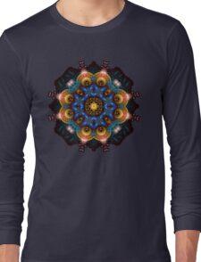 Fractal Art May Mandala Long Sleeve T-Shirt