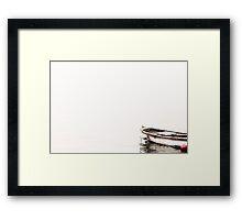 Son Kayık Framed Print