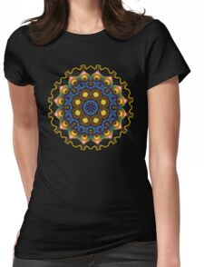 May Circle Mandala Fractal Art Womens Fitted T-Shirt