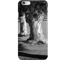 Scary Trees: Copsed Gums, Sedan. iPhone Case/Skin
