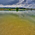 Lake Eichsee Germany by Daidalos