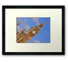 London Architecture  Big Ben Perspective Framed Print