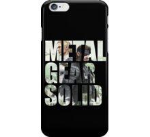 Metal Gear Solid Snake Eater (3) iPhone Case/Skin