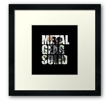 Metal Gear Solid Snake Eater (3) Framed Print