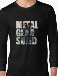 Metal Gear Solid Snake Eater (3) Long Sleeve T-Shirt
