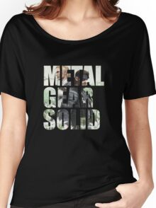 Metal Gear Solid Snake Eater (3) Women's Relaxed Fit T-Shirt
