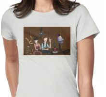 Mystery Science Picture Show 1900 Womens Fitted T-Shirt