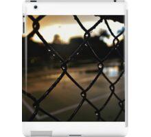 Raindrops on a Fence iPad Case/Skin