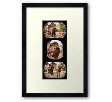Hershey and Harrison BFF III Framed Print