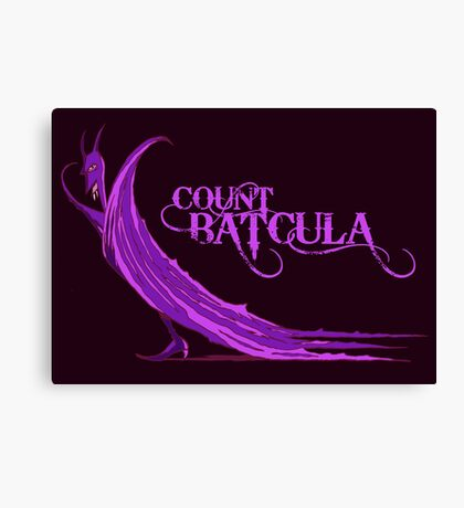 Count Batcula Canvas Print