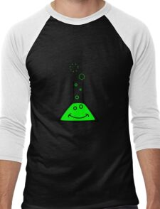 Bubbling beaker Men's Baseball ¾ T-Shirt