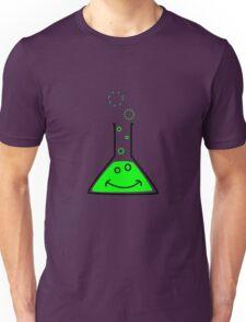 Bubbling beaker Unisex T-Shirt