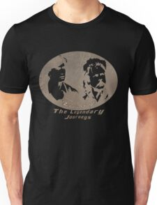 Rowsdower:  Zap And Troy the Legendary Journeys Tee (sepia version) T-Shirt
