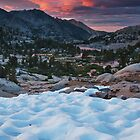 Sabrina Basin Sunset by Nolan Nitschke