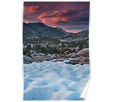 Sabrina Basin Sunset Poster