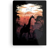 From Jungle to City Metal Print