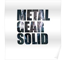 Big Boss from Metal Gear Solid: Ground Zeroes Poster