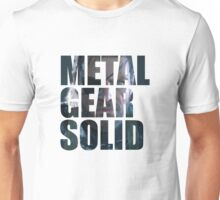 Big Boss from Metal Gear Solid: Ground Zeroes Unisex T-Shirt
