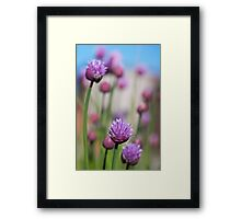 Simply Chives Framed Print