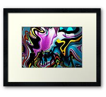 Spotlight on life Framed Print