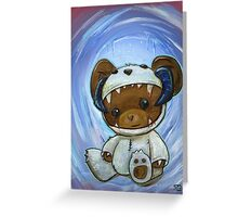 Mr. Chompypants meets a Wampa Greeting Card