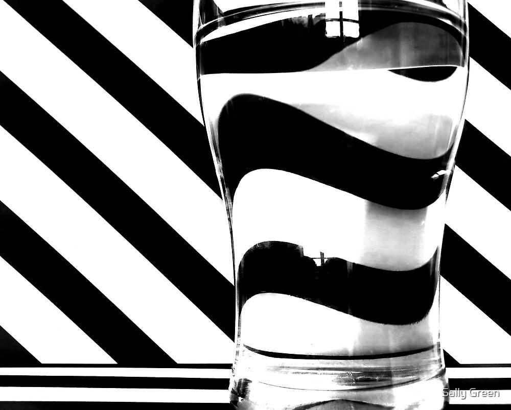 Zebra juice No3 by Sally Green