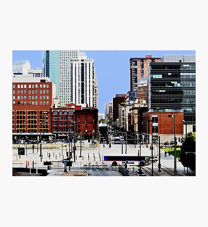 """Downtown Denver"" HDR Photographic Print"